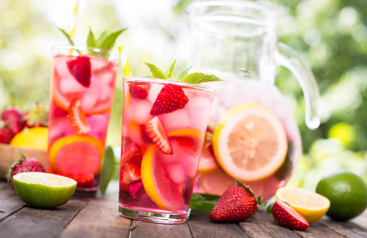Tomar bebidas de color rosa puede hacerte correr más lejos y más deprisa
