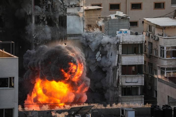 El Ejército israelí cifra en 1.500 los cohetes lanzados desde Gaza
