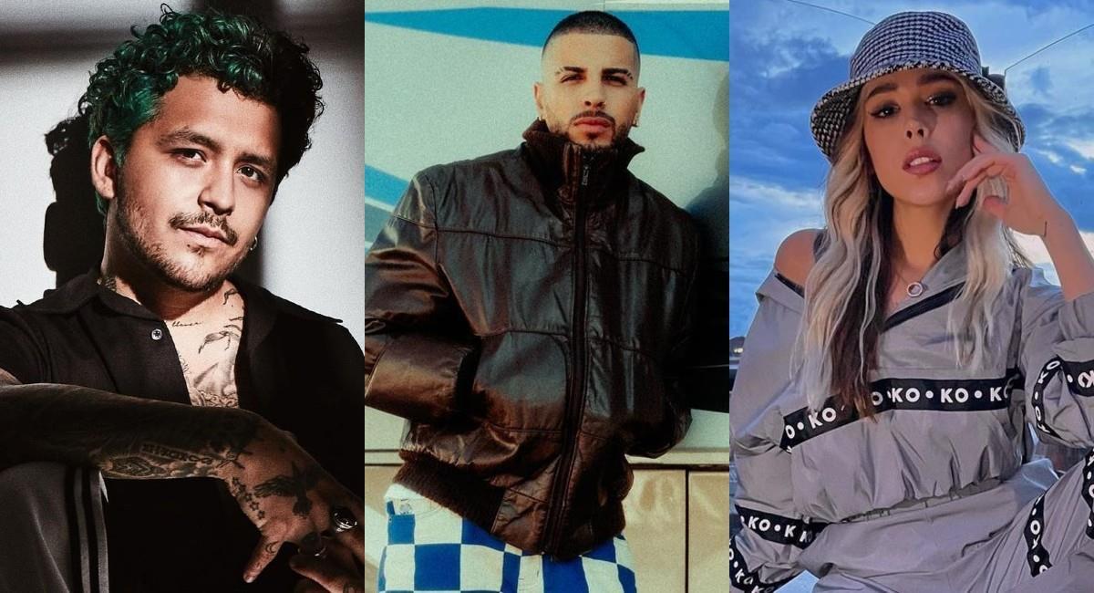 Christian Nodal, Rauw Alejandro y Danna Paola se presentarán en los MTV MIAW 2021
