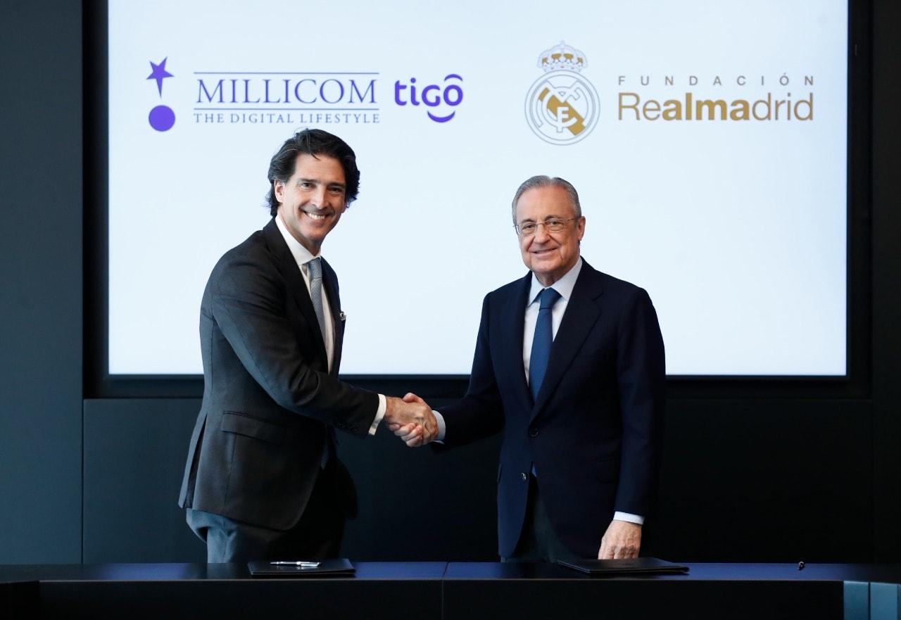 Alianza entre la Fundación Real Madrid y Millicom-TIGO para proyectos sociodeportivos en Latinoamérica